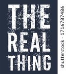 The Real Thing Typography For...