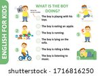 english for kids playcard.... | Shutterstock .eps vector #1716816250