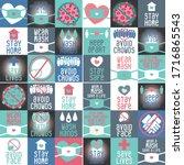 corona virus   covid 19 icon...   Shutterstock .eps vector #1716865543