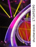 stage lighting effect in the... | Shutterstock . vector #171695390