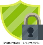 protection and security. icon...