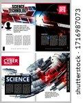 modern vector templates for... | Shutterstock .eps vector #1716987073