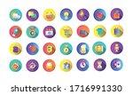 bundle of miscellaneous set...   Shutterstock .eps vector #1716991330