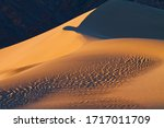 The Mesquite Flat Sand Dunes...