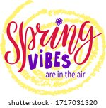 vector illustration of spring...   Shutterstock .eps vector #1717031320