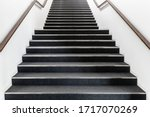 Long Stair Concrete In Office...