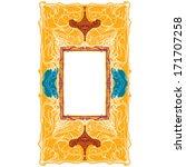 traditional fine decor frame ... | Shutterstock .eps vector #171707258