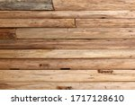 Old Wooden Planks Wall Vintage...