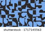 new grunge aesthetics in... | Shutterstock .eps vector #1717145563