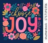 """choose Joy"" Colorful..."
