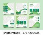 medical social media banner... | Shutterstock .eps vector #1717207036