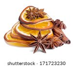 spices anise   cinnamon and... | Shutterstock . vector #171723230