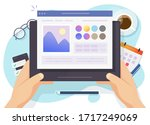 image software photo editor... | Shutterstock .eps vector #1717249069