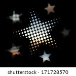 Colorful Vector Stars Made Of...