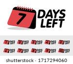 set of number days left...