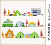 camping  | Shutterstock .eps vector #171729770