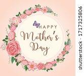 template design for happy... | Shutterstock .eps vector #1717325806