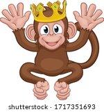A Monkey King Cute Happy...