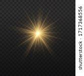 Star Burst With Brilliance ...