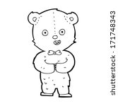 cartoon teddy bear | Shutterstock . vector #171748343