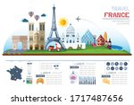 info graphics travel and... | Shutterstock .eps vector #1717487656