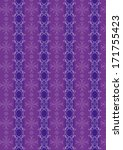 a variety of purple decorative... | Shutterstock . vector #171755423