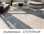 Outdoor Terrace Area With Grey...