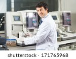 portrait of confident male...   Shutterstock . vector #171765968