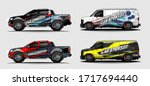 set of car graphic vector....   Shutterstock .eps vector #1717694440