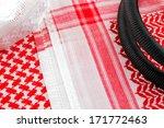 a close up image of a ghutrah... | Shutterstock . vector #171772463