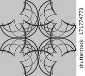 vector seamless background | Shutterstock .eps vector #171774773