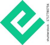 energi token coin logo vector... | Shutterstock .eps vector #1717780756
