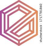 elamachain token coin logo... | Shutterstock .eps vector #1717781860