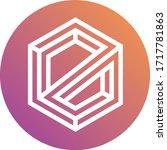 elamachain token coin logo... | Shutterstock .eps vector #1717781863