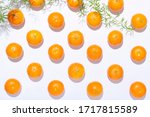 fresh organic clementines in a... | Shutterstock . vector #1717815589
