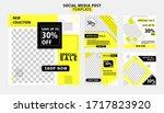 editable post template social...   Shutterstock .eps vector #1717823920