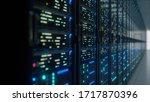 Modern Interior Server Room...