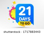 countdown left days banner with ... | Shutterstock .eps vector #1717883443
