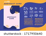abstract cover design creator....   Shutterstock .eps vector #1717950640