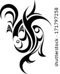 fish tattoo | Shutterstock .eps vector #171797258