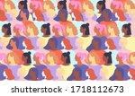 international womens day.... | Shutterstock .eps vector #1718112673