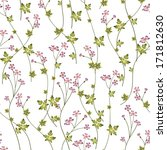 seamless floral pattern with...   Shutterstock .eps vector #171812630