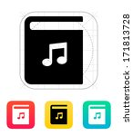 audio book icon. vector...