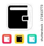 book with lock icon. vector...