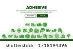 adhesive tape scotch landing...   Shutterstock .eps vector #1718194396
