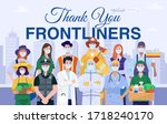 Thank You Frontliners Concept....