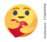 caring emoji  coronavirus emoji ...   Shutterstock .eps vector #1718335936