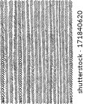 zigzag doodle  | Shutterstock . vector #171840620