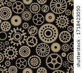 vector seamless pattern with... | Shutterstock .eps vector #1718423050