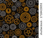 vector seamless pattern with...   Shutterstock .eps vector #1718423053